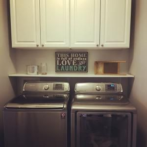 Small Laundry Room Makeover By Lidia