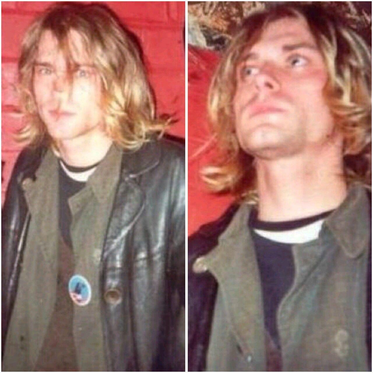 Pin By Lorraine Petitto On Kurt Cobain Legend Red Leather Jacket Leather Jacket Kurt Cobain [ 1280 x 1280 Pixel ]