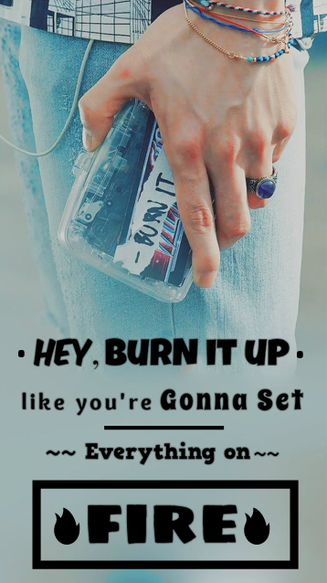 """Photo of """"Hey burn it up, like you're gonna set everything on fire"""" – BTS """"Fire"""" #music #…"""