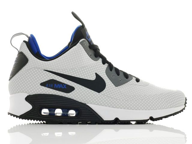 Shoes Nike Air Max 90 Mid Winter Print Night Silver