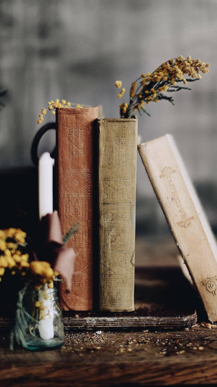 Pin By Okky On Books Book Wallpaper Book Flowers Coffee And Books