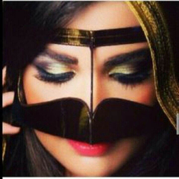 Pin By ર8wlɴ Kħlieɖ On برقع بنات Face Makeup Halloween Face Makeup Face
