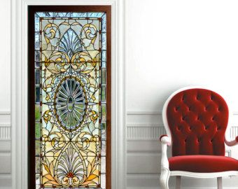 Door Wall Sticker Sea View From The Tower Belém SelfAdhesive - Vinyl stickers for glass doors