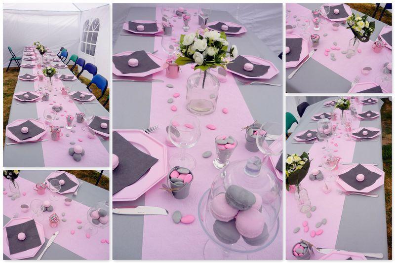 idée décoration de table pour communion fille - 3 | Première ...