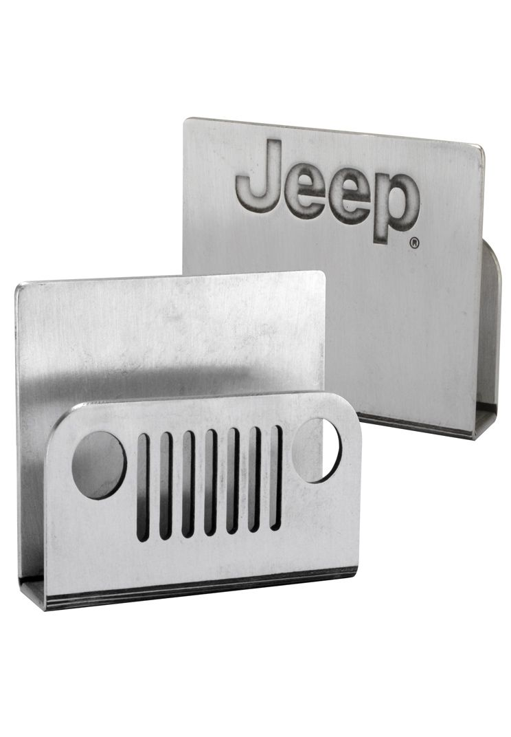 Jeep Gear: Product\'Jeep® Business Card Holder\' | Cool Car Stuff ...
