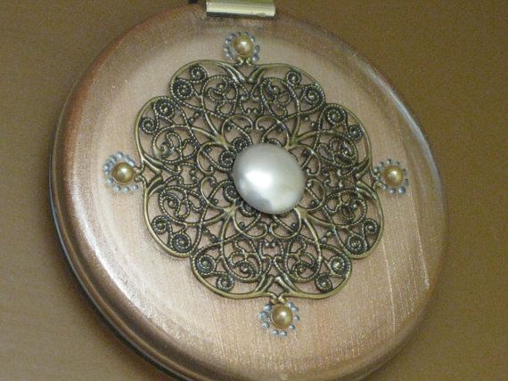 Compact Travel Mirror by Laineybean on Etsy, $46.00