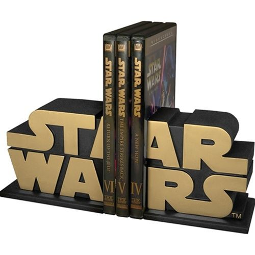 Star Wars bookends.
