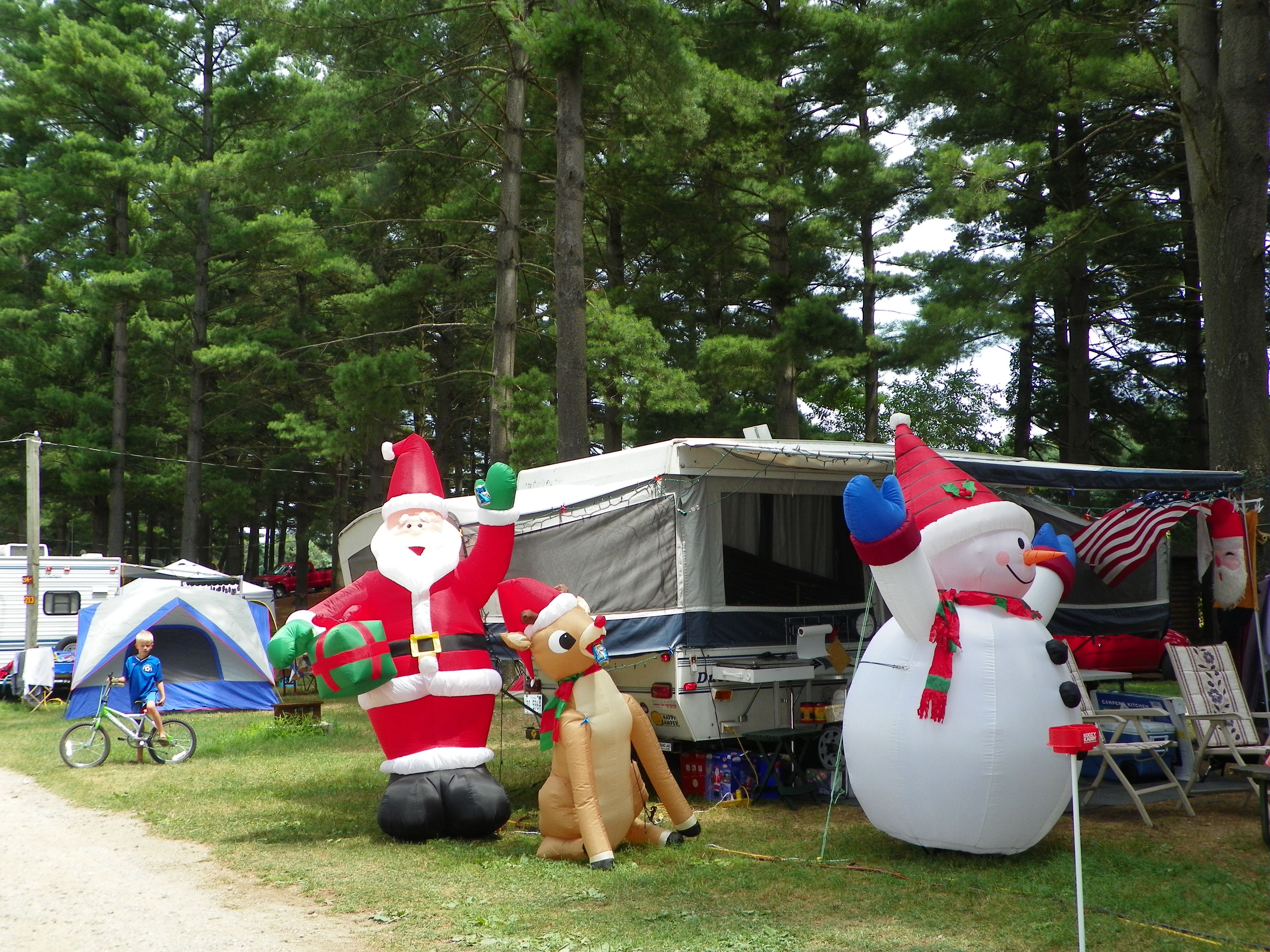 Camping Christmas In July Ideas.Happy Holidays At Eby S Pines Rv Park They Started