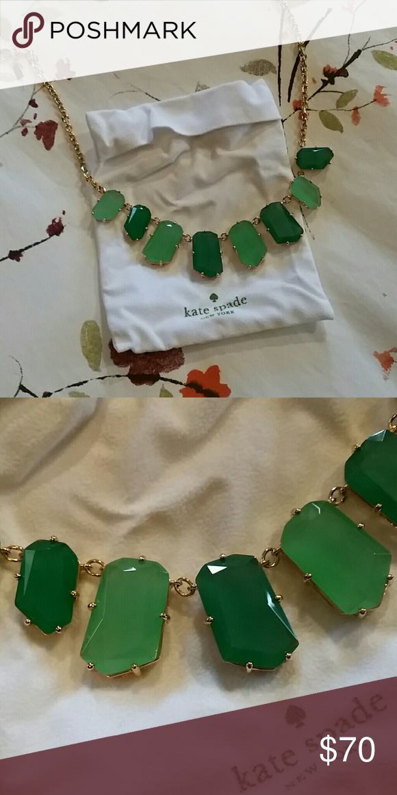 Kate Spade necklace NWOT. Stunning statement necklace. Never worn. kate spade Jewelry Necklaces