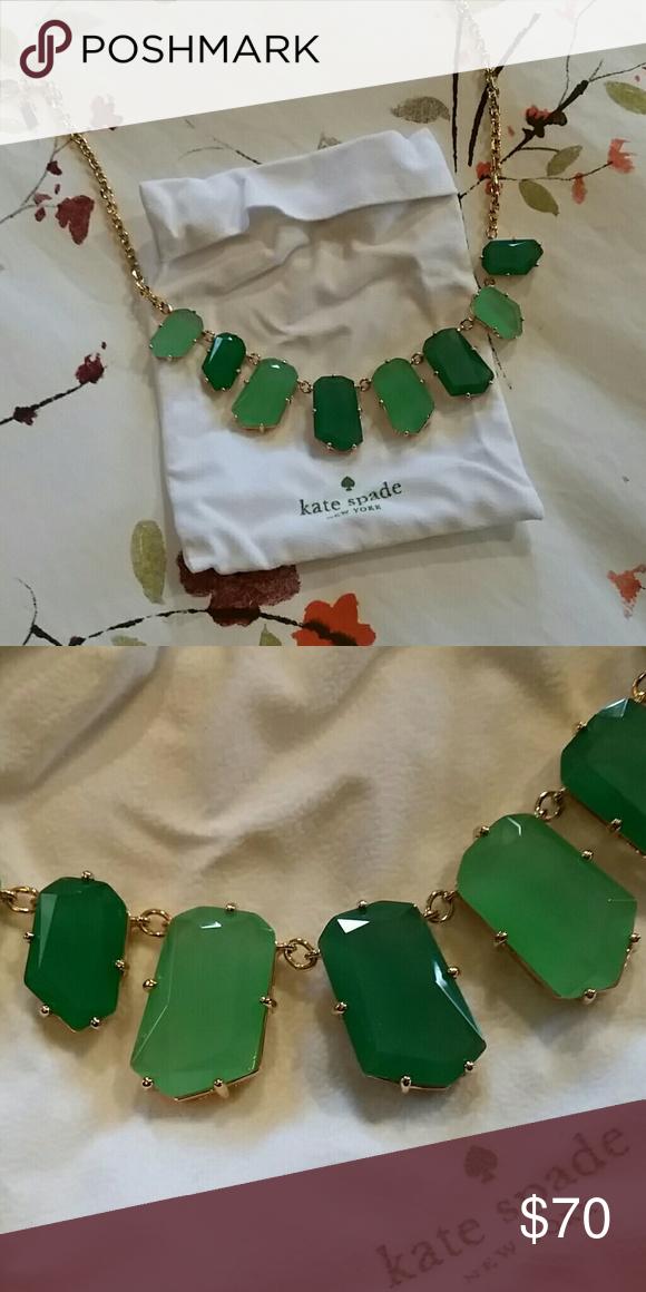 Kate Spade necklace NWOT. Stunning statement necklace. Never worn. kate spade Jewelry Necklaces