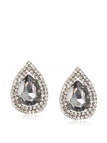 50% OFF Leslie Danzis Teardrop Oversize Crystal Post Earrings #jewelry #Women
