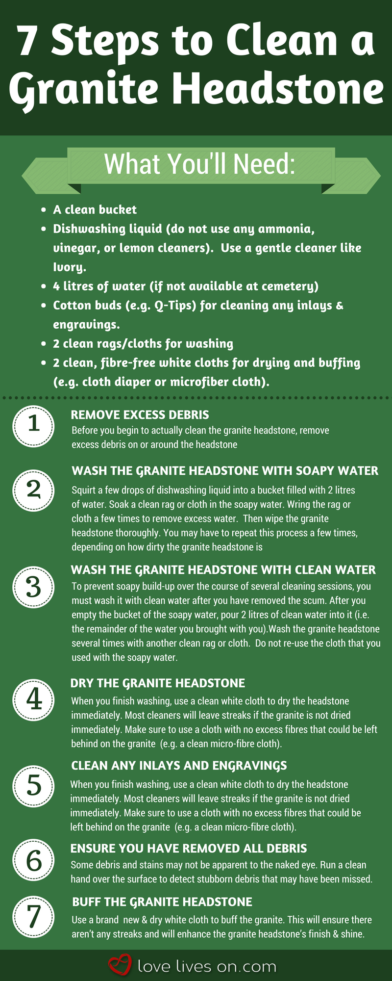 How To Clean A Headstone The Ultimate Guide Cleaning Hacks Deep Cleaning Tips Clean Dishwasher