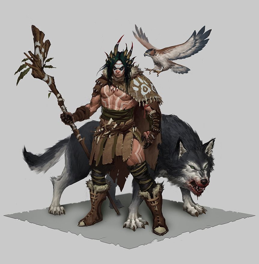 Dnd Druid Barbarian - Year of Clean Water