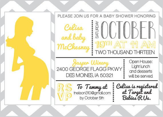 Baby Shower Invitation Baby Shower Invitations Baby Shower