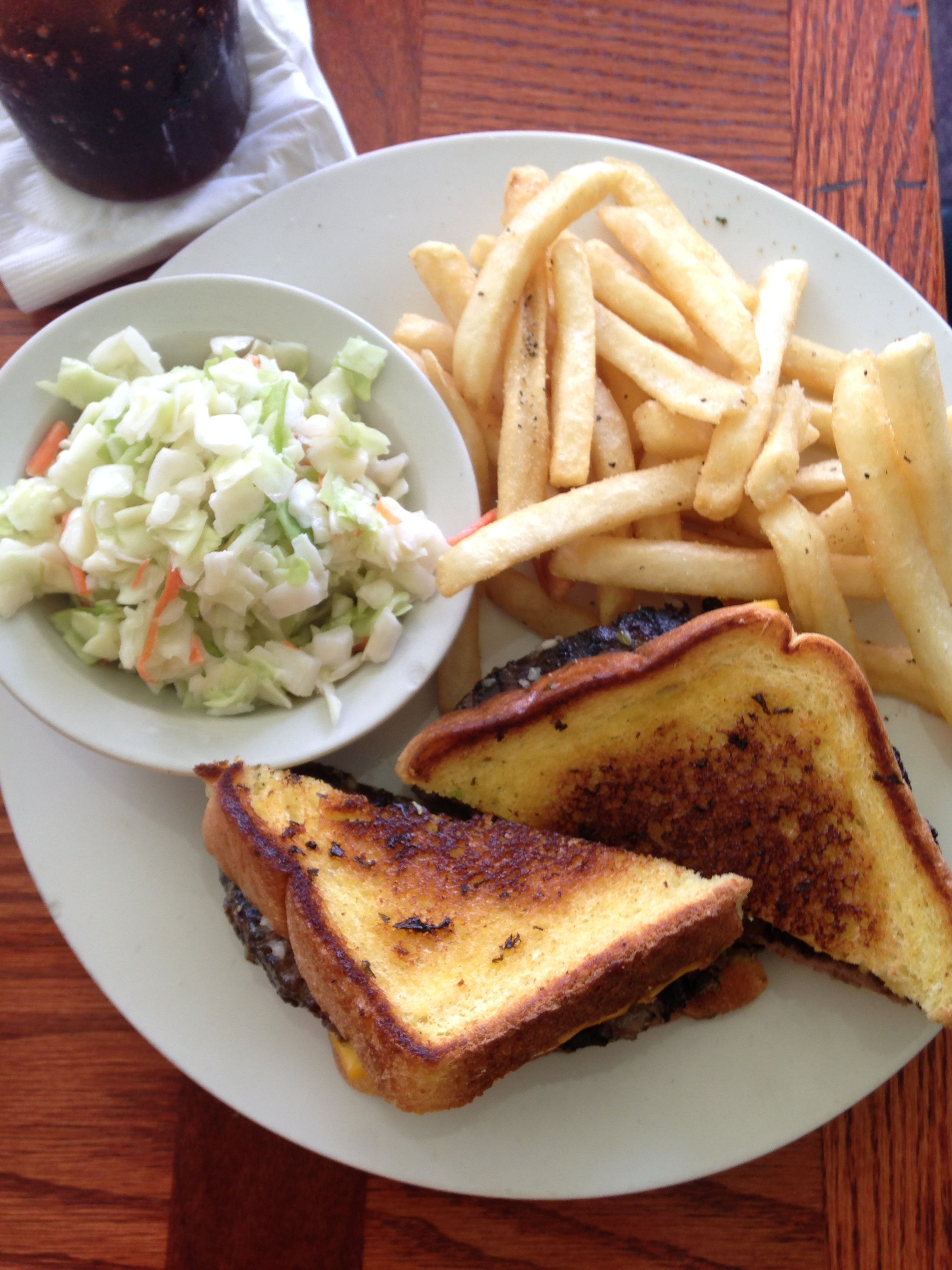 The American Patty Melt From Port Steak And Seafood Restaurant In Haines City Florida