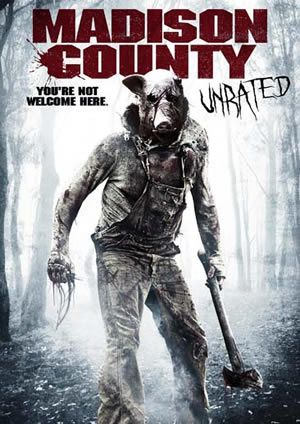 Madison County Unrated DVD Cover