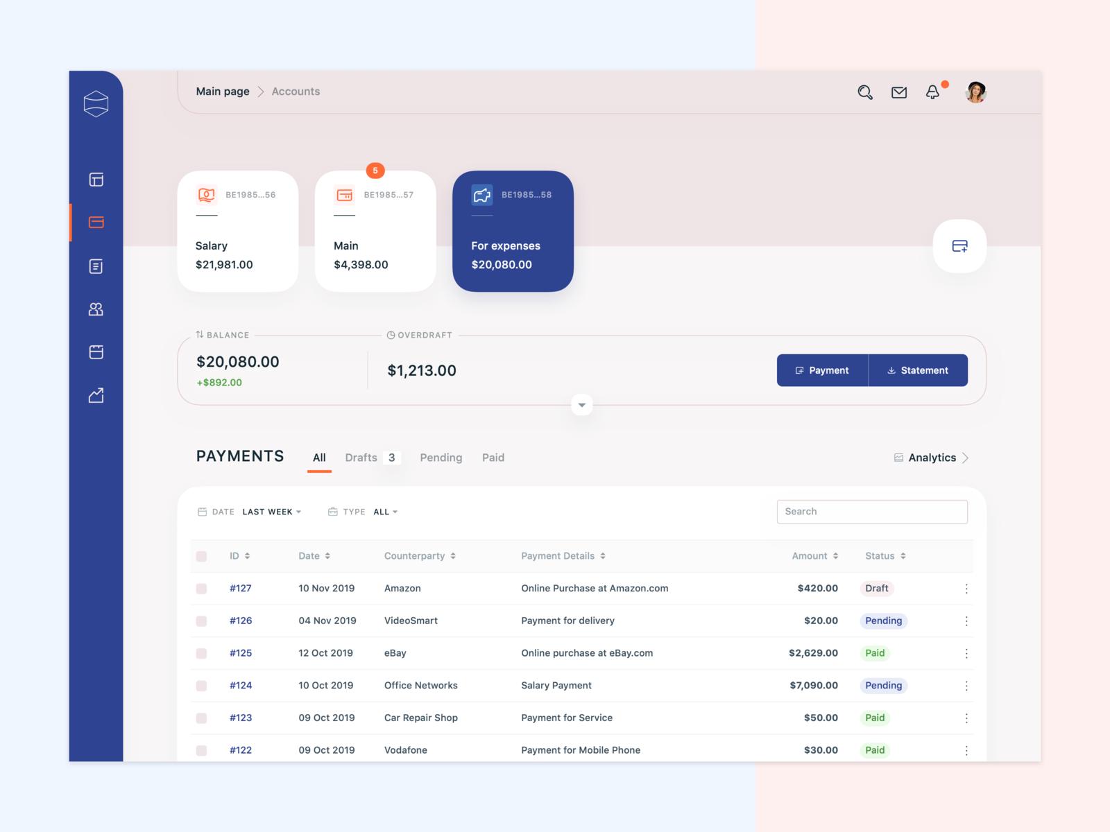 Banking App Concept Banking App Web App Design Web Design