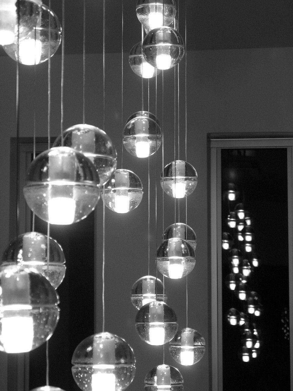 lustre hall d entree bocci design contemporain luminaire