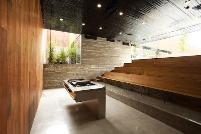 HABITAR: ESCUELA DE ARTE CULINARIO   interior architecture_RD13 ...   {Kochschule architektur 33}