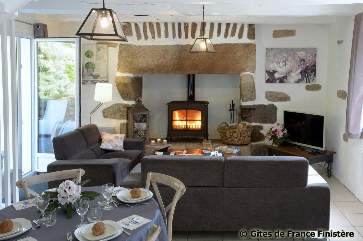 Bruyères, Finistère photo 1 Wohnung, Ferienwohnung