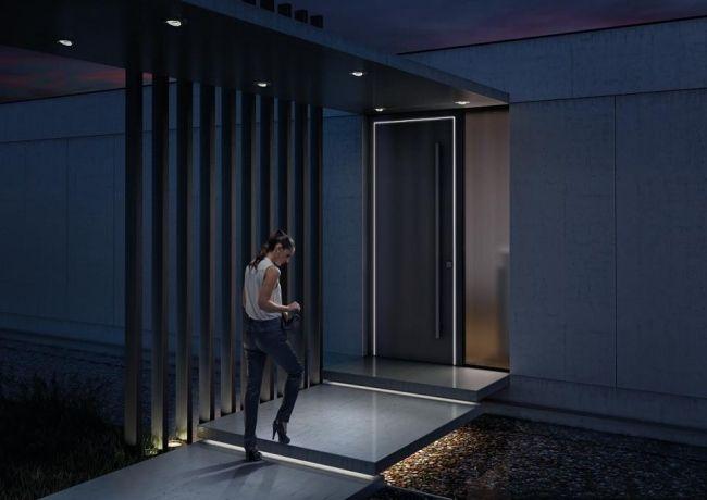 Moderne innentüren eiche josko  Fenster Türen Josko nevos haustür led fugenlicht akzent | AVANT ...