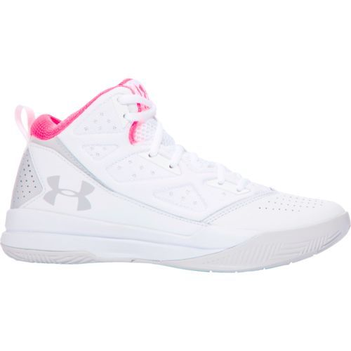 Under Armour Women s Jet Mid-Top Basketball Shoes (White Grey 9d1e7a5e2d