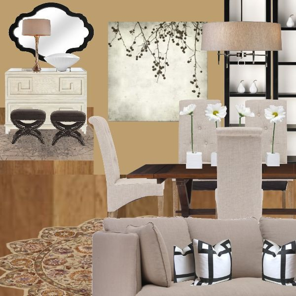 Interior design e design interior decorator dining room living room decorliving room digital mood board home decor 125
