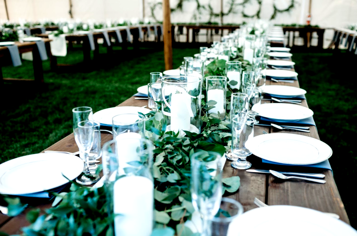 Private Home Wedding In Monterey Ca Tablescapes Boho Themed