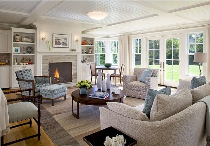 Cape Cod Style House Living Room Small Cottage Rooms Photos Of Fine Homes Lower Farm Architects