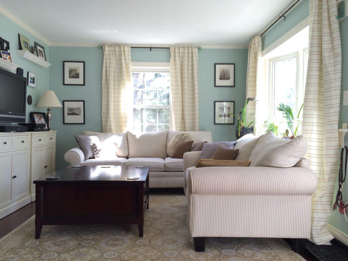 Benjamin Moore Palladian Blue Leh Design On Fb Ig Lehealy Com Palladian Blue Home Decor Design #palladian #blue #living #room