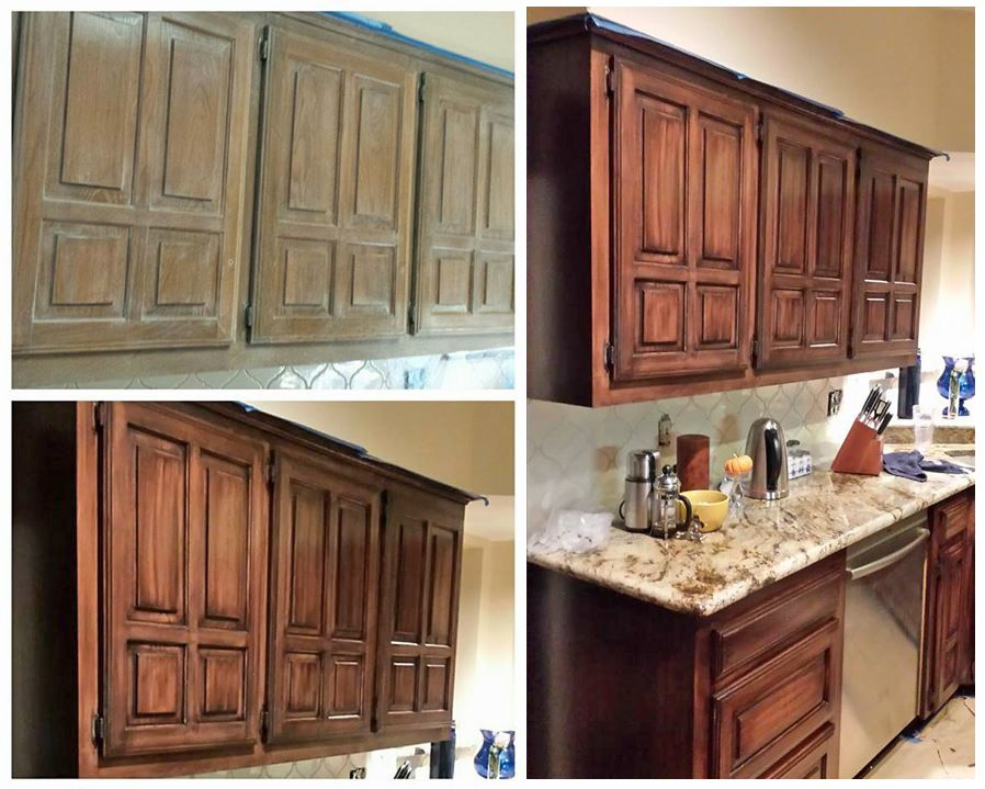 Bon Java Gel Stain Kitchen Transformation By Relove Designs