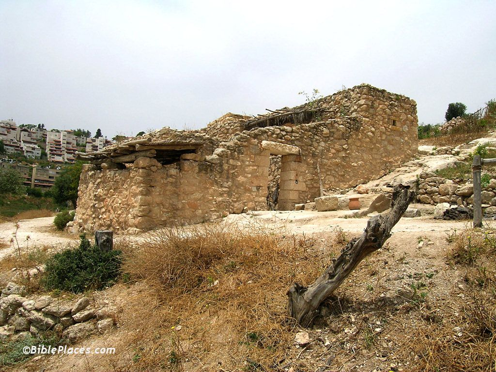 Ancient house in Nazareth village. Did Mary and Joseph live in a ...