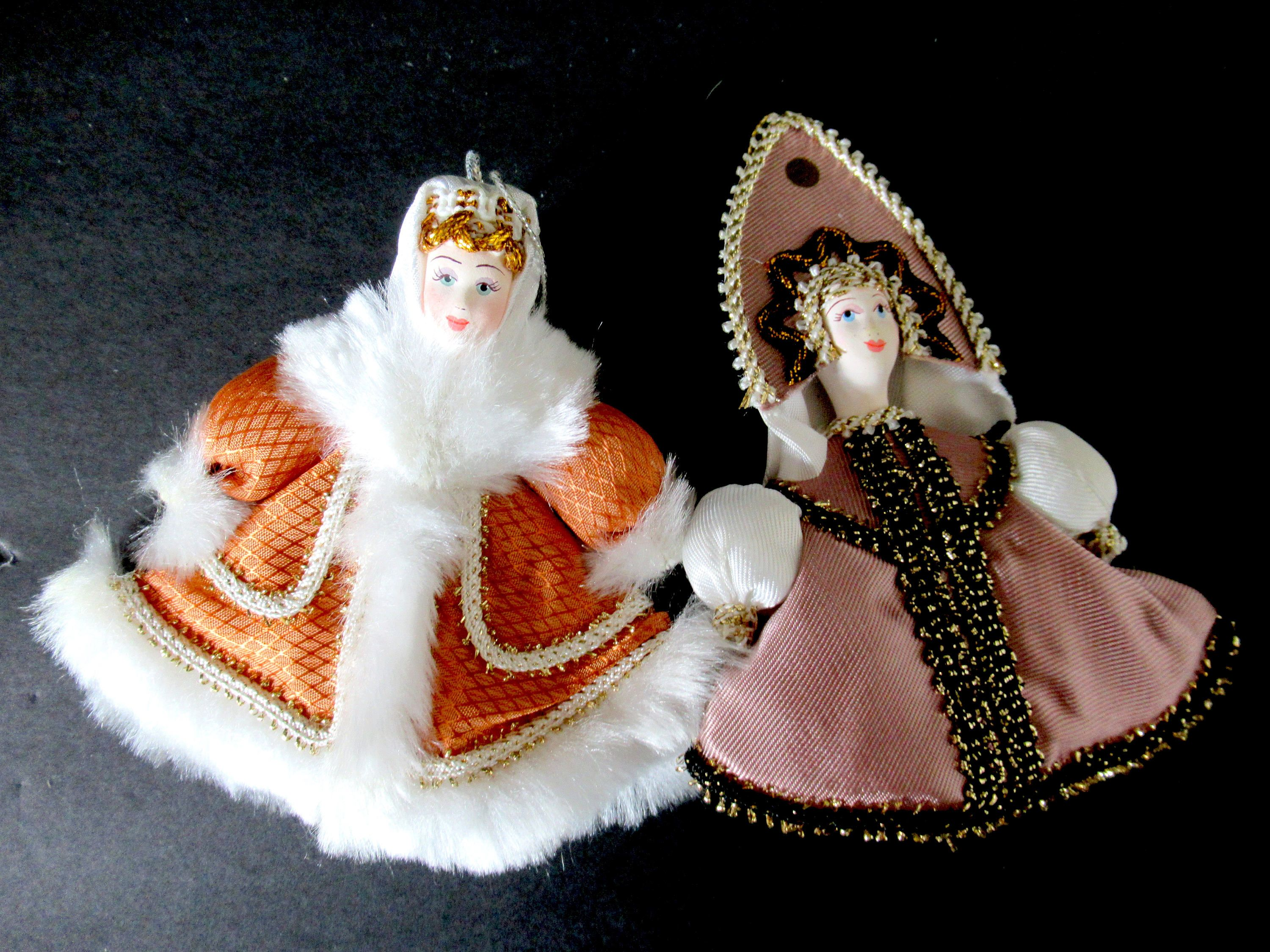 russian christmas ornaments vintage