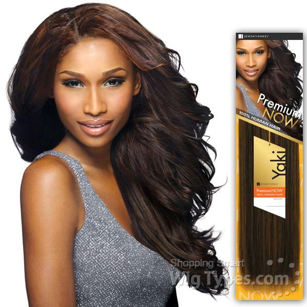 Sensationnel Premium Now 100 Human Hair Weave New Yaki Platinum 12 Weave Hairstyles Human Hair 100 Human Hair