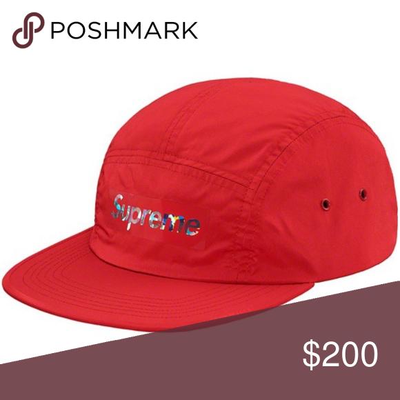 Supreme New York Authentic Holographic Logo Cap Supreme Accessories Supreme Bag Cap