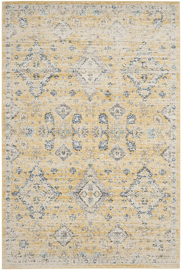 Safavieh Evoke Gold And Ivory 10 X 14 Area Rug Area Rugs