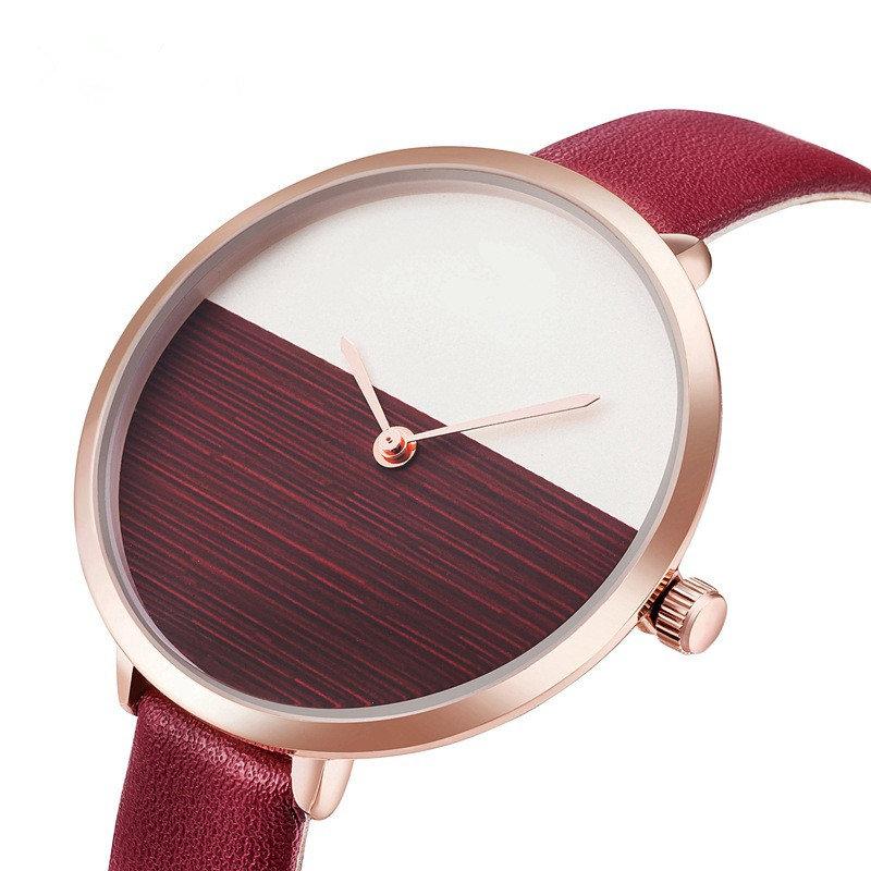 fba0da24a Trendy Designer Ladies Watch Slim Band Simple Quartz for Women Clock  Waterproof Minimalist Watchs online - NewChic