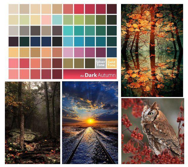 Dark Autumn palette