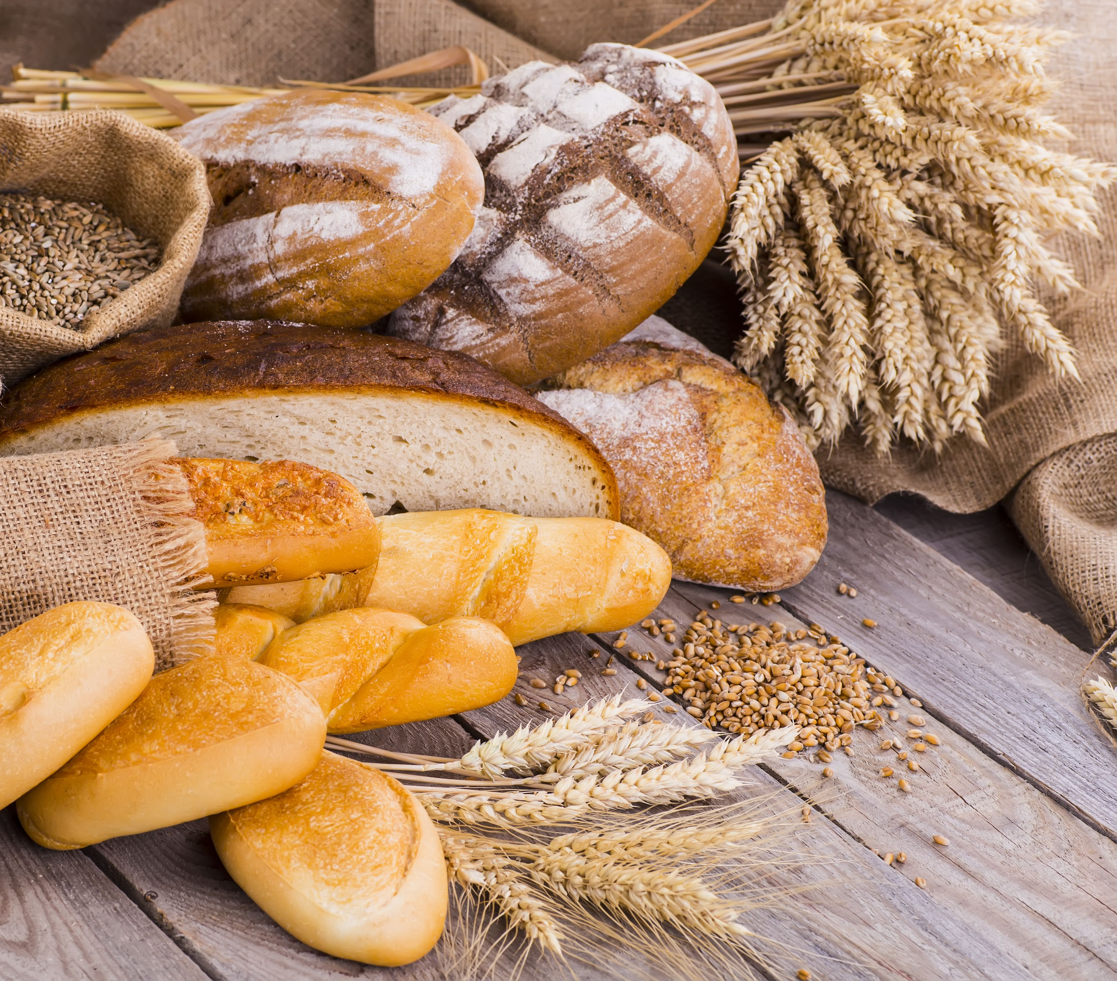 WHOLE GRAINS are rich in biotin along with iron, zinc and