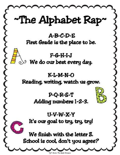 Image result for Printable Preschool All About Me Poems