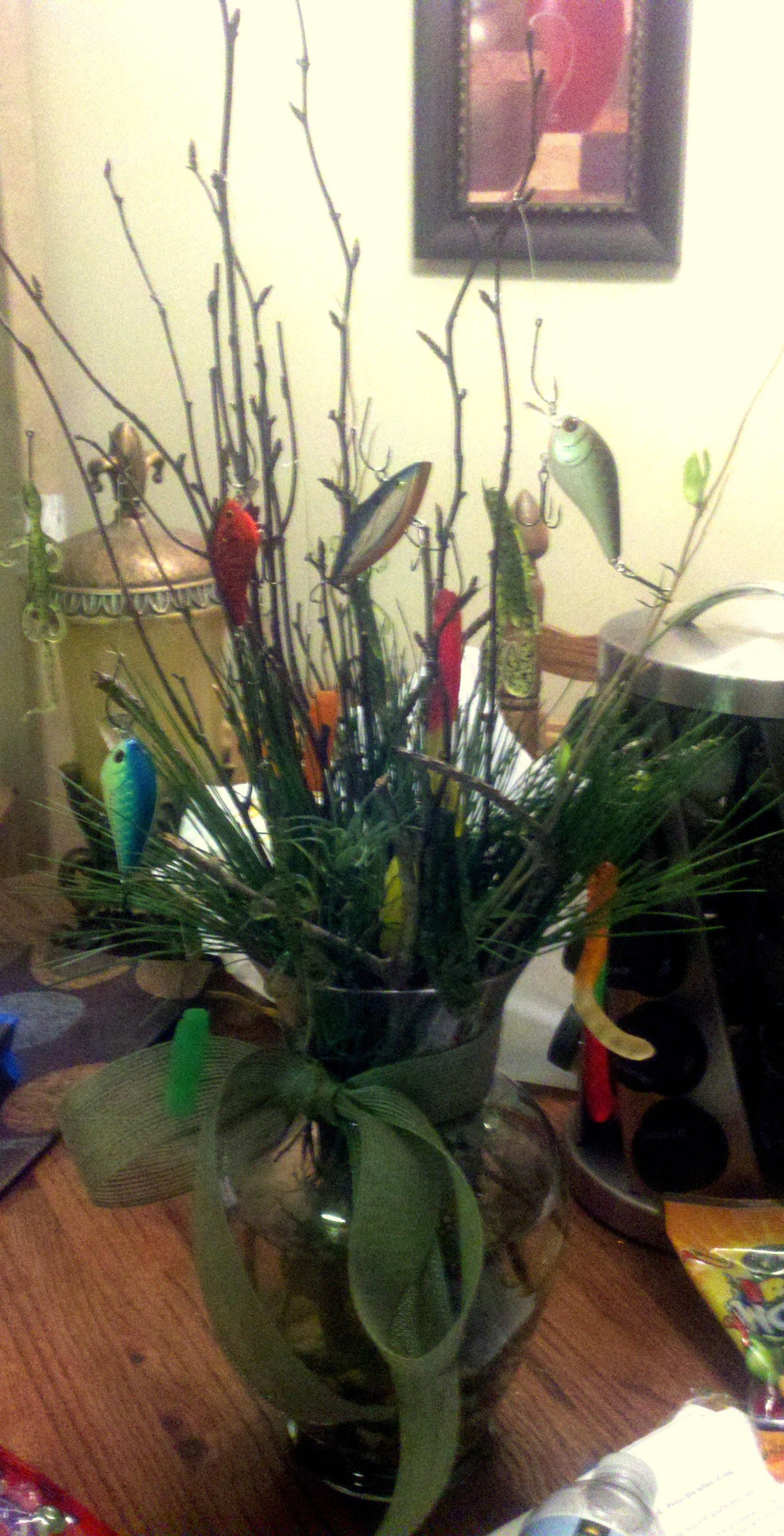 Fishing Bouquet... with fish in the vase Fishing
