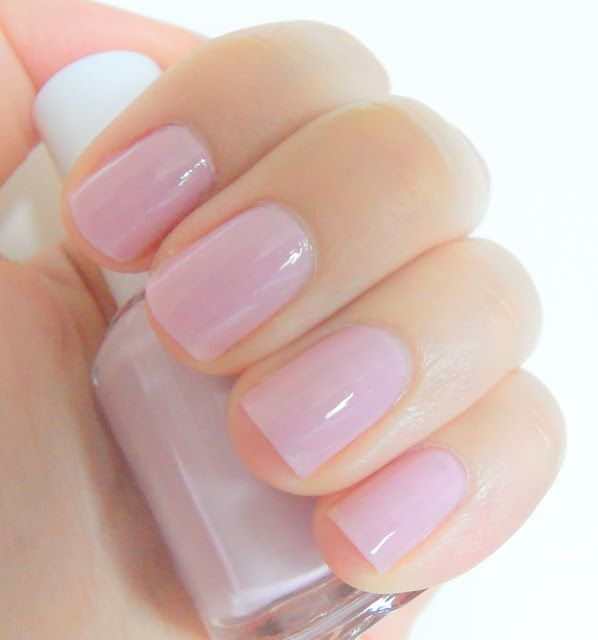 Essie Nail Polish In Neo Whimsical A Pale Pink Purple Jelly