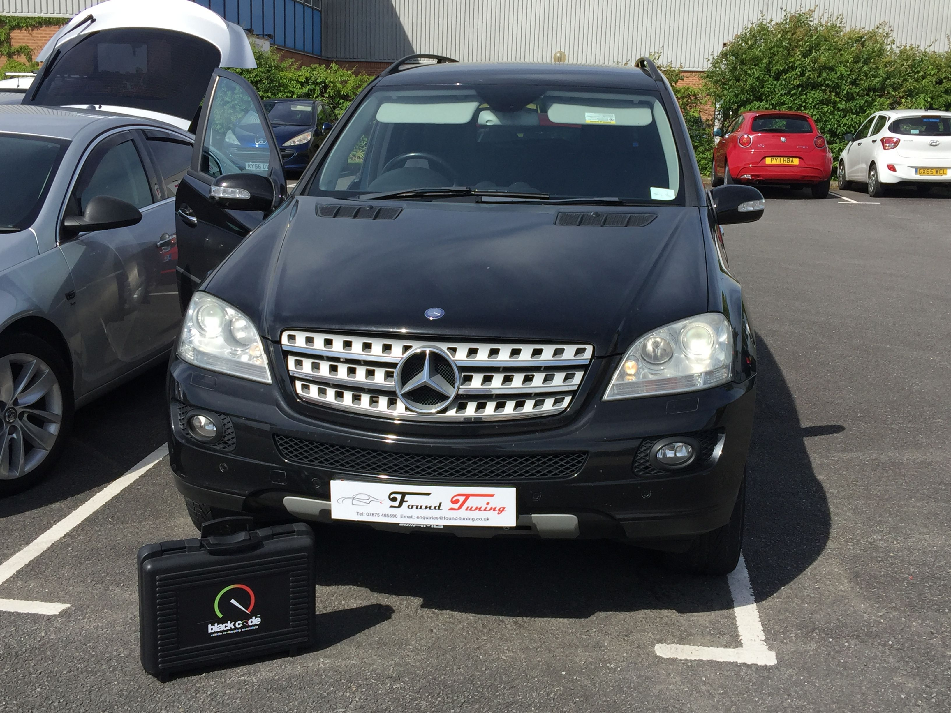 Mercedes ML320 for a Found Tuning performance remap to provide the extra  BHP and torque for