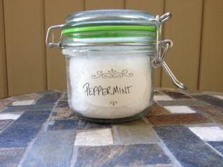 Organic Coconut Oil Peppermint 4 oz. $8