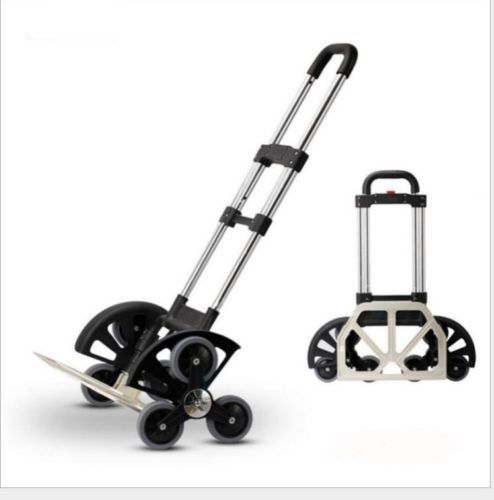 404483a672cc Moving up to 180LB for Push hand truck All-Terrain Stair Climbing ...