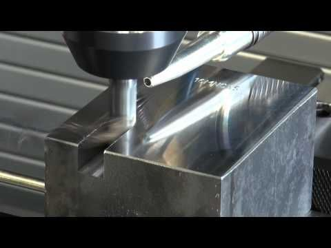 Tendo E Compact fräst eine Nut mit Tiefe 2xD / Tendo E Compact milling a slot with depth of 2xD - YouTube