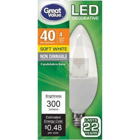 Household Essentials Light Bulb Bulb Led