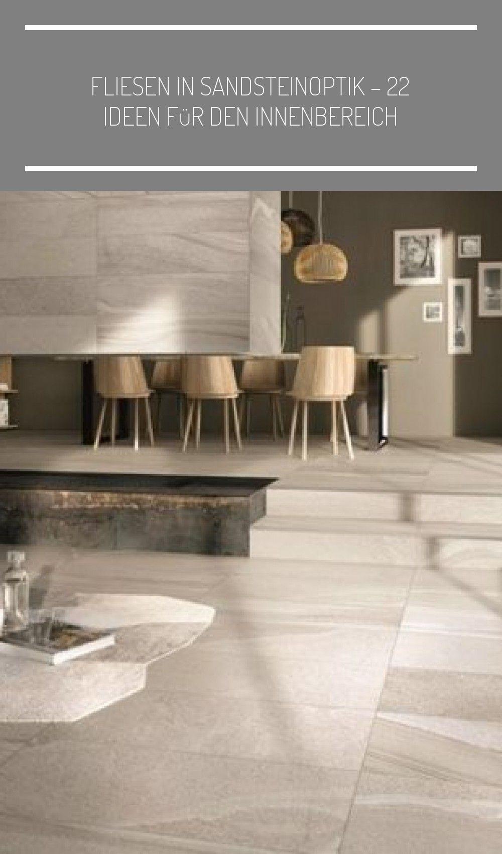 Fliesen in Sandsteinoptik – 10 Ideen für den Innenbereich #beige