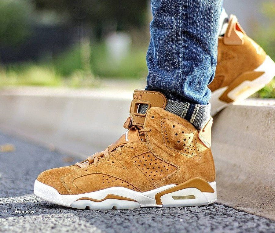 Air Jordan 6 Wheat Sneaker Collection Nice Shoes Air Jordans