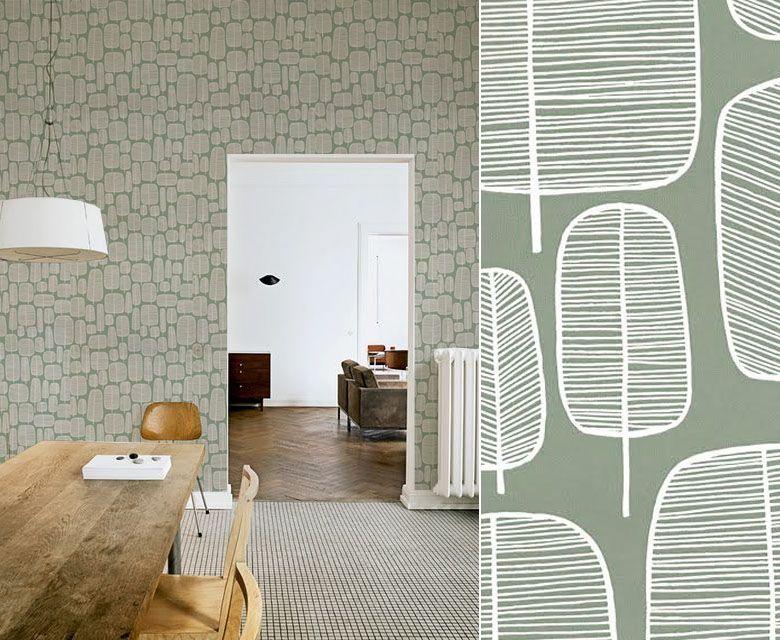design 50 39 s pourquoi cet engouement patterns pinterest papier peint peindre et. Black Bedroom Furniture Sets. Home Design Ideas